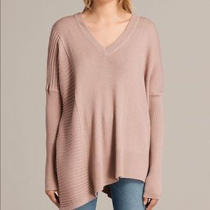 Allsaints V neck sweater! In perfect condition!
